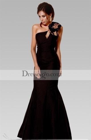 vestidos negros cortos y largos 2012