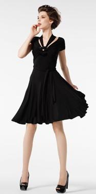 Vestidos negros de fiesta, el color perfecto