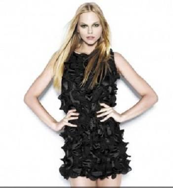 vestidos con brillantes de moda
