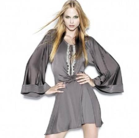 Vestidos con brillos para fiestas 2012