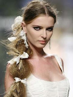 peinados de novias 2012