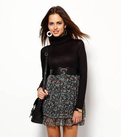 vestidos negros de otoño