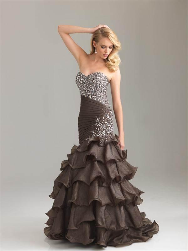 vestidos pomposos 2012