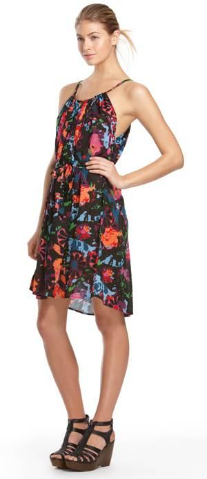 vestidos floreados veraniegos