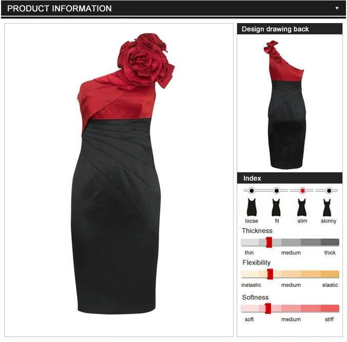Accesorios rojos para un vestido negro
