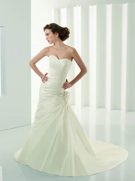 vestidos largos color blanco