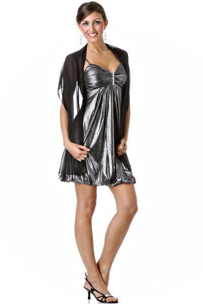 vestidos vaporosos cortos y largos
