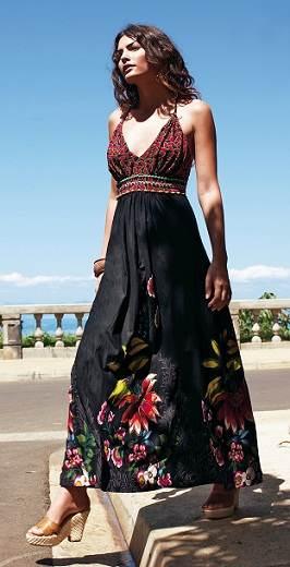 vestidos largos holgados
