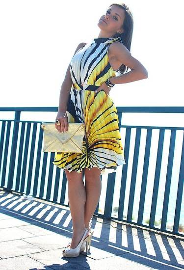 vestidos elegantes de diario
