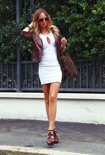 vestidos modernos con chaquetas