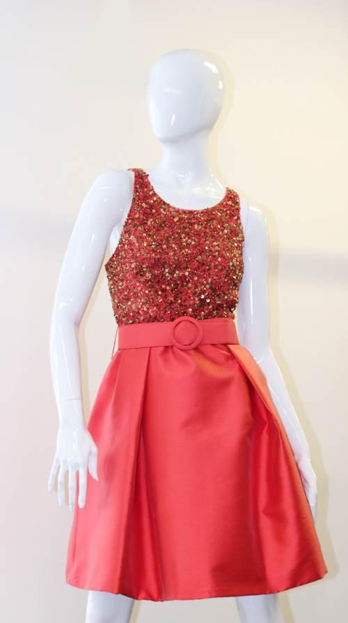 Vestidos Cortos Color Coral | AquiModa.com: vestidos de boda, vestidos