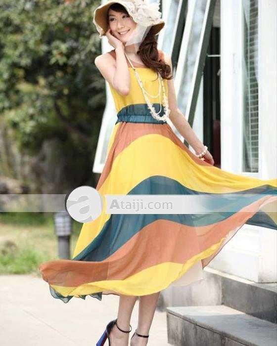 vestidos coloridos de fiesta
