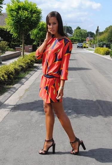 vestidos de colores de verano