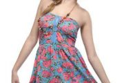 Hermosos vestidos de diario moda 2012