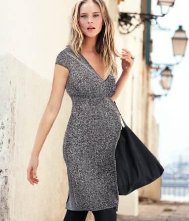 Ropa de invierno para embarazadas a la moda | AquiModa.com