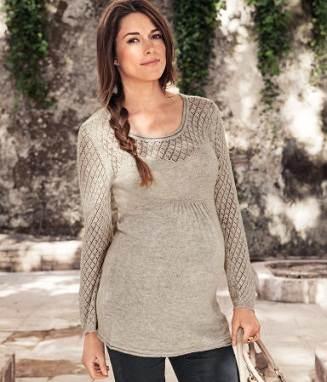 Ropa de invierno para embarazadas a la moda