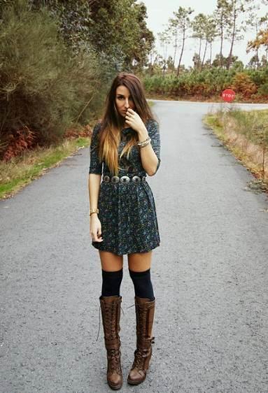 vestidos negros de invierno