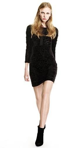 vestidos negros de navidad
