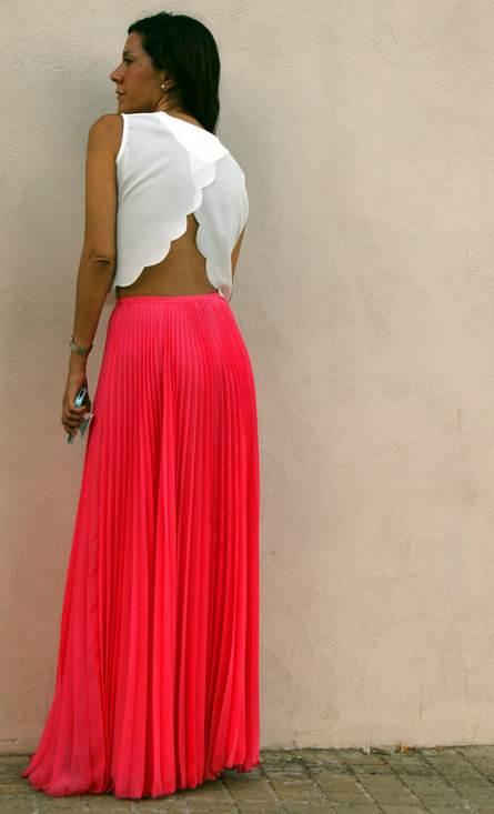 vestidos largos y frescos