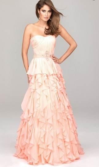 vestidos espectaculares de gala