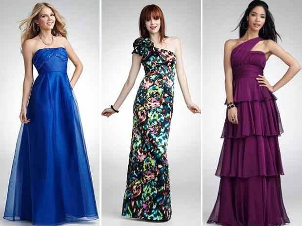 vestidos largos con tiempos