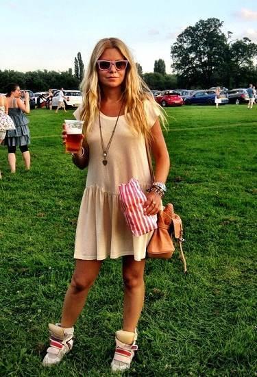 vestidos simples para la tarde