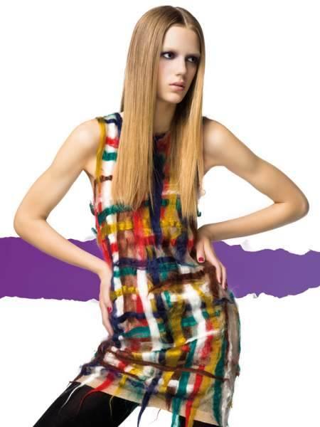 vestidos coloridos de invierno