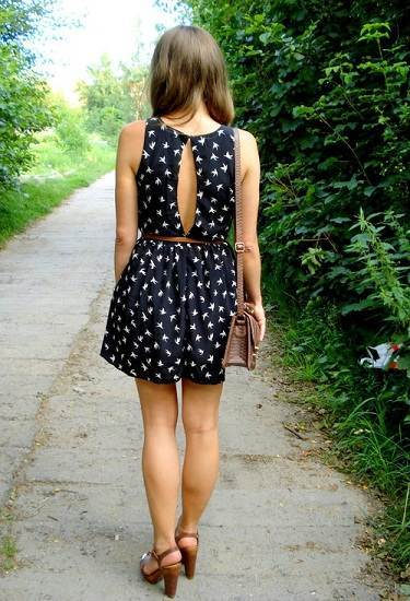 vestidos sueltos de diario