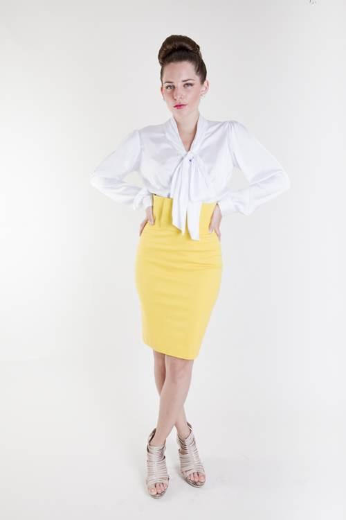 vestidos apretados para la oficina