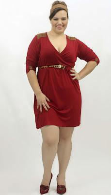 Gorditas a la moda: vestidos modernos para gorditas 2012