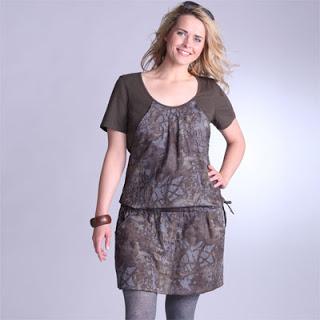 vestidos informales para gorditas