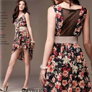vestidos cortos y largos 2012