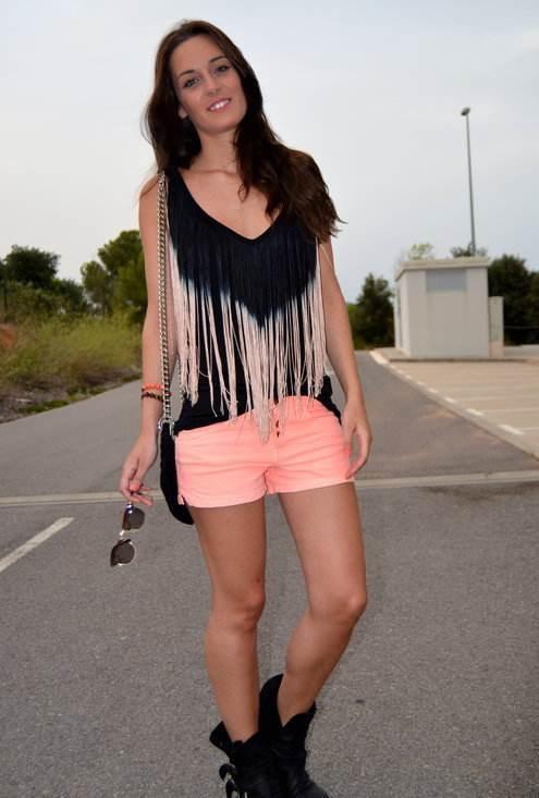 shorts elegantes de moda 2012