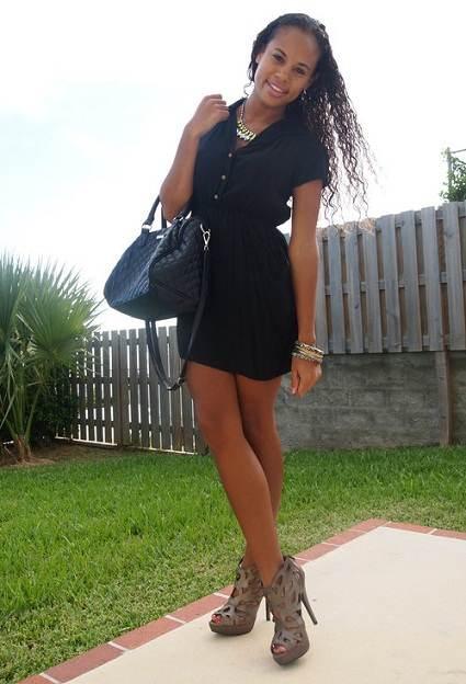 Vestidos ideales para ir al centro comercial