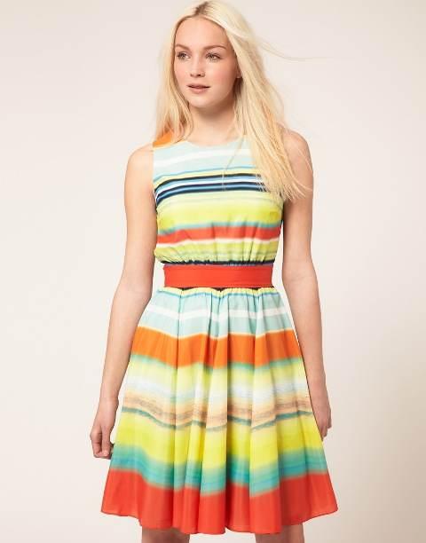 Vestidos casuales de verano, modelos muy lindos de moda