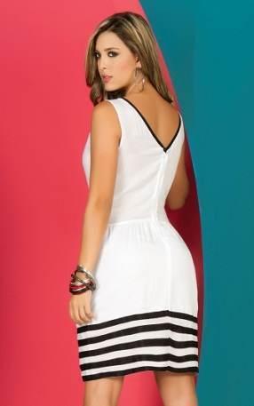 Variedad de modelos de vestidos para el diario 2013