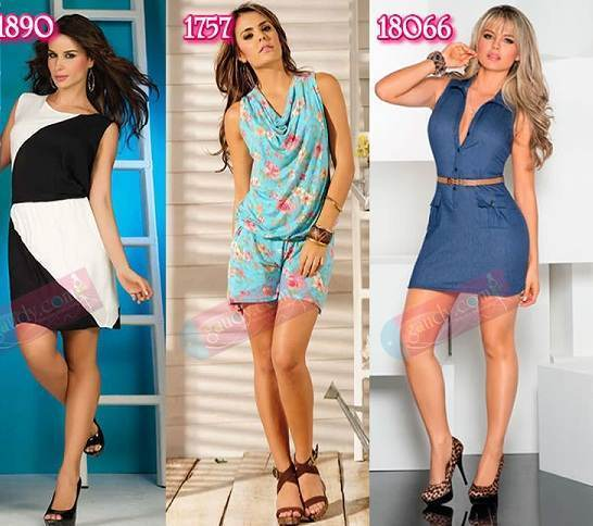 vestidos estampados de verano 2013