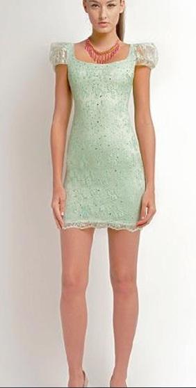 vestidos brillantes cortos 2013