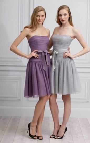 Vestidos largos para damas de honor 2013