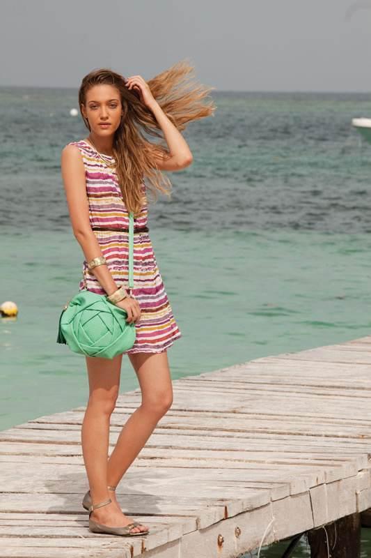 vestidos playeros de moda 2013