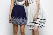Vestidos elegantes cortos para ocasiones de fiesta