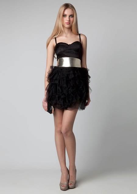 Vestidos preciosos de moda para fiestas de navidad