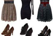 Looks de fiesta, vestidos y accesorios de moda