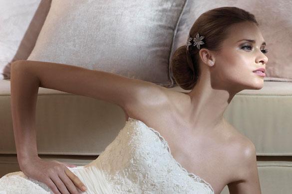 peinados altos para novias 2013