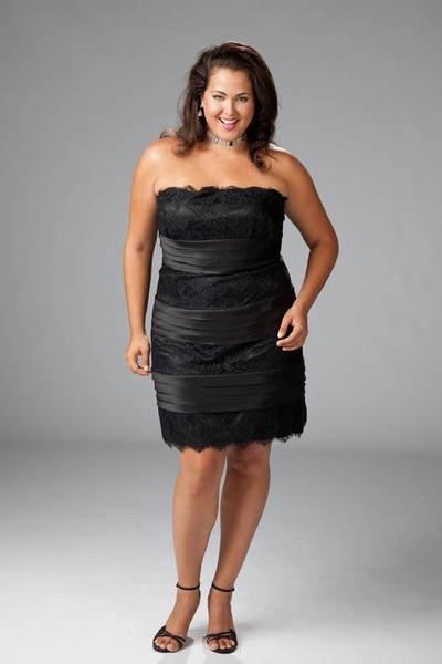 vestidos modernos gorditas 2013