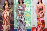 Vestidos cortos y largos de primavera 2013