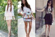 Looks diferentes para el día, elegantes modelos de vestidos
