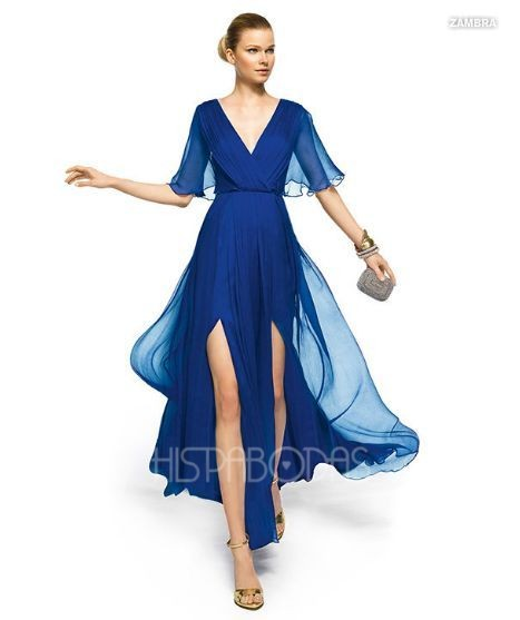 Hermosos vestidos de gasa, para tus fiestas más exigentes