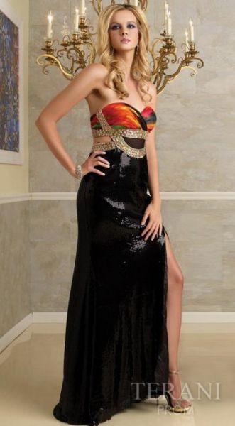 Preciosos vestidos cortos y vestidos largos para eventos especiales