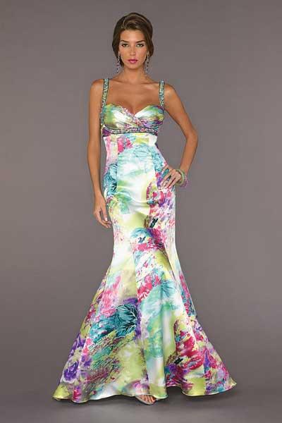 a46b4948d Vestidos con estampados elegantes - Vestidos formales